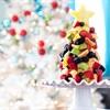 2 cách làm cây thông Noel sắc màu từ trái cây