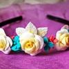 Cách làm bờm hoa hồng cực xinh cho bé yêu