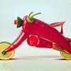 Độc đáo với nghệ thuật tạo hình từ rau củ quả