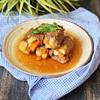 Cách làm thịt heo cuộn rau củ rim đậm đà cho bữa cơm chiều