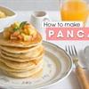 Cách làm bánh pancake sốt táo mật ong nhiều tầng