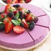 Cách làm mixed berry mousse cheesecake hương dâu tây