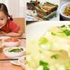 Món ăn cho trẻ vừa thay răng