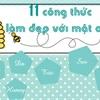 """""""Lột xác"""" với 11 công thức làm đẹp từ mật ong"""