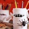 Hướng dẫn làm hộp bút chì xác ướp cho ngày Halloween