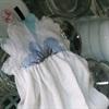 Tận dụng áo thun cũ để làm khăn lau bếp