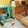 Nhà bếp trong mơ dành cho bé yêu từ thùng các tông bỏ đi