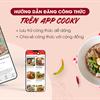 Hướng dẫn cách đăng Công thức lên App Cooky