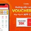 Hướng dẫn sử dụng Voucher mua hàng trị giá 35.000đ được tặng trên App Cooky