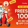 Ưu đãi lớn FREESHIP 100.000đ khi đặt hàng tại App Cooky
