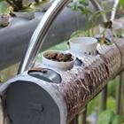 Mô hình trồng rau bằng ống nhựa uPVC hiện đại trên sân thượng
