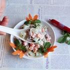 Salad su su béo ngậy vừa lạ vừa quen
