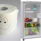 Tuyệt chiêu dùng 2 cuộn giấy vệ sinh bỏ vào tủ lạnh để khử mùi hôi
