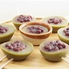 Cách làm pudding đậu đỏ trà xanh giải nhiệt, mát lạnh