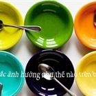 Ảnh hưởng của màu sắc trên bàn ăn
