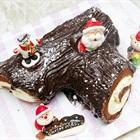 Cách làm bánh khúc cây vị chocolate thơm ngon dịp giáng sinh