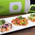 Làm nhanh 3 món salad giòn mát chỉ với dụng cụ cắt gọt 10 món đa năng Nicer Dicer
