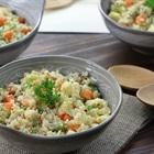 Cách làm Cơm bông cải trắng - Cơm dành cho tín đổ giảm cân