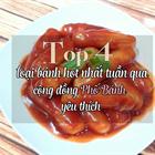 Top 4 món bánh hot nhất trong tuần qua được chị em Phố Bánh yêu thích