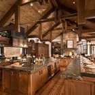 Phòng bếp mang phong cách cổ điển châu Âu