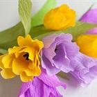 Khéo tay làm hoa tulip giấy cực xinh xắn