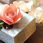 Làm hoa giấy tặng mẹ ngày 20/10