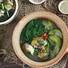 Trứng vịt lộn um bầu và ngải cứu - 2 phương thuốc truyền thống bồi bổ cơ thể của người Việt