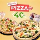 Giảm giá sốc 40% các gói Pizza Ready to Cook - tự tin chế biến cho cả nhà ăn tẹt ga