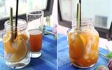 Trà đào cam sả - Thức uống giải nhiệt vừa độc vừa lạ!