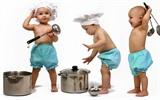 Ý tưởng độc đáo trong bếp cho gia đình có trẻ nhỏ