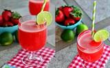 Nước ép dâu tây - Thức uống tăng cường cho phái mạnh