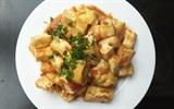 Cách nấu đậu hũ trắng sốt cà chua chay