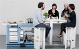 10 Thiết kế bếp thông minh cho nhà chật