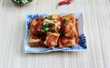 Đậu hũ chiên sốt cà chua: Món ăn đơn giản, hấp dẫn cho những người vụng về