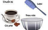 Bí quyết nhuộm tóc màu nâu hạt dẻ siêu HOT bằng cà phê