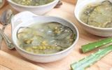 Cách nấu chè đậu xanh nha đam đường phèn mát lạnh bổ dưỡng