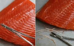 Cách nhặt sạch xương dăm ở phi lê cá