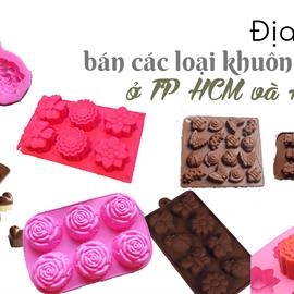 Địa điểm bán các loại khuôn silicon ở TP Hồ Chí Minh và Hà Nội