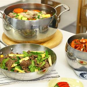 Thực đơn bữa cơm gia đình 3 món nhanh gọn đầy đủ dinh dưỡng chị em nội trợ hãy lưu lại ngay