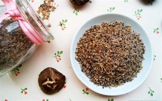 Tự làm hạt nêm từ nấm hương ngon sạch và rẻ
