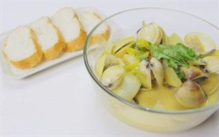 Biến tấu mới lạ cho món cà ri nghêu