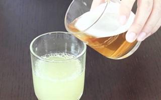 Mách bạn cách làm đẹp từ A - Z với lon bia hơn 10 ngàn đồng