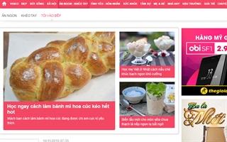 Top 10 website ẩm thực nổi tiếng nhất Việt Nam