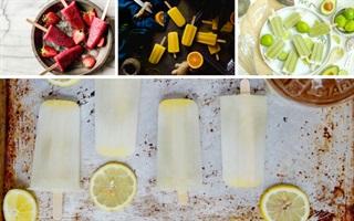10 loại kem đá trái cây mát lạnh siêu ngon cho mùa hè