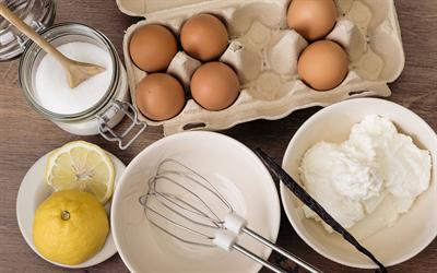 Những nguyên liệu có thể thay thế khi bị thiếu hụt trong làm bánh