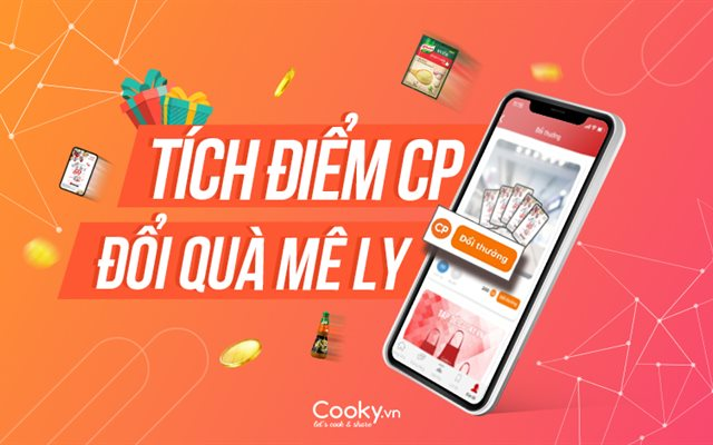 Điểm thưởng CP của Cooky.vn dùng để làm gì, cách tích lũy và đổi điểm CP lấy nhiều phần quà hấp dẫn