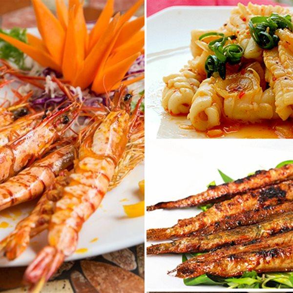 101 cách tẩm ướp hải sản nướng