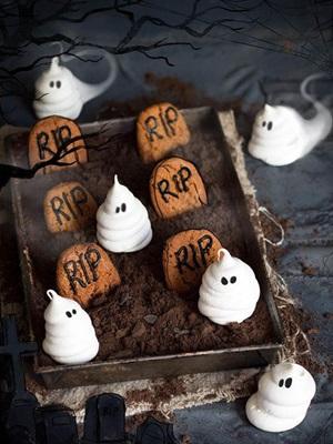 Món ăn mùa Halloween có thể làm tại nhà
