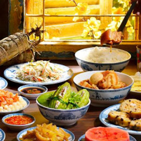 Mâm cơm Tết thường có gì?
