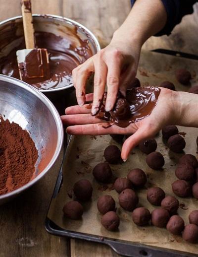 Chocolate handmade cho Lễ Tình Nhân 14/2 ngọt ngào